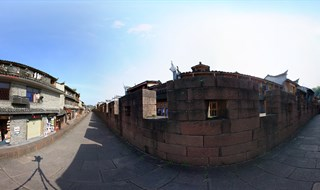 East Gate to North Gate Wall 360 panorama view