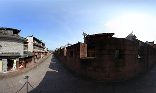 East Gate to North Gate Wall Panorama view