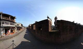 East Gate to North Gate Wall Virtual panorama