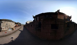 East Gate to North Gate Wall 360 degree view