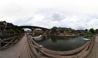 Virtual panorama of From Ting Bridge to Fenghuang Second Bridge