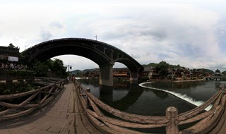 360 degree photo of From Ting Bridge to Fenghuang Second Bridge