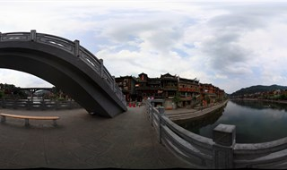 360 travel of From Ting Bridge to Fenghuang Second Bridge