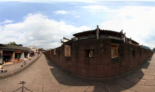 360 panoramic image of East Gate to North Gate Wall