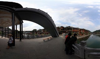 VRpanorama of From Ting Bridge to Fenghuang Second Bridge