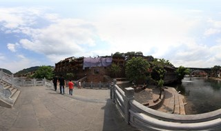 360 panorama VR of From Ting Bridge to Fenghuang Second Bridge