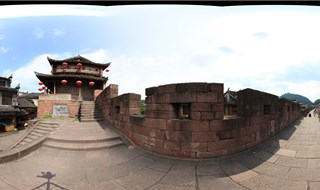 Virtual panorama of East Gate to North Gate Wall