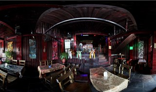 Kekexili bar 360 panoramic photo