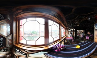 Yueliang Zhishang bar 360 virtual panorama