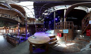 Watchmen of Ancient Town bar 360 virtual panorama