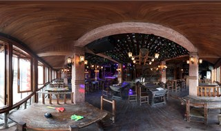 Watchmen of Ancient Town bar Virtual panorama