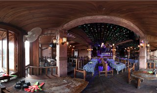 Watchmen of Ancient Town bar 360 degree view