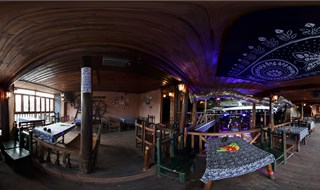 Watchmen of Ancient Town bar 360 virtual tour