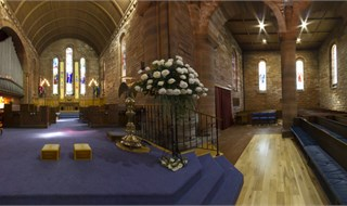 St Nicholas Parish Church, Prestwick, Scotland