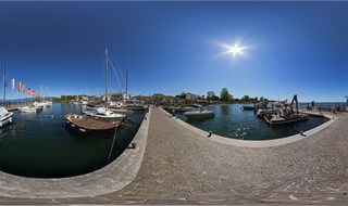 Bardolino harbour