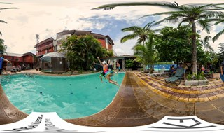 Swimming Clases @ Hotel Heathy Day Inn, Grecia, Costa Rica