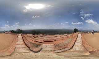 Sigiriya rock - on top
