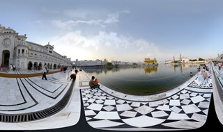 Golden Temple 360 Panorama.(www.360virtualtour.in)