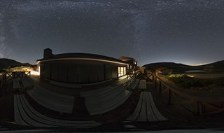Autumn Milkyway View in Mt. Norikura