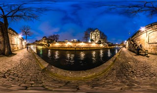 The River Seine and Notre Dame