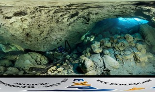 Cave diving in Orange Grove - Florida