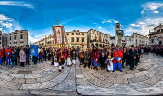 Saint Blaise Procession 03.02.2015.