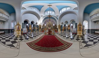 St. Simeon and St. Ann Orthodox Cathedral Interior