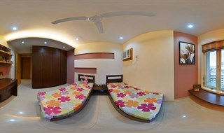 2 Bhk Flats in Thane - A Bigger Twin Bed Kids Room