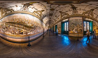 The Hall of Battles at El Escorial