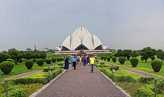 Lotus Temple Delhi 360 by www.lifeexpression.in(ravi sethi)