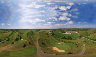 Halesworth Golf Club Aerial View 1