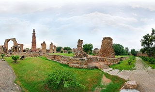 Qutb Minar Mehrauli, New Delhi 360 by ravi sethi  www.virtualtour.in