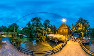 Night on Rastoke