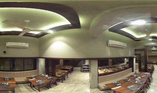 Hotel Opal, Kolhapur. Newly decorated dinning hall.