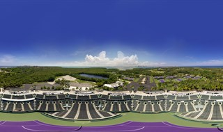 Crandon Tennis Center Panorama sky fixed smal