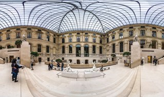 Cour Marly, Louvre Museum, Paris, 2014.