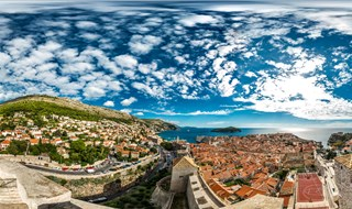 Dubrovnik from Fort Minceta, Dubrovnik, 2015.