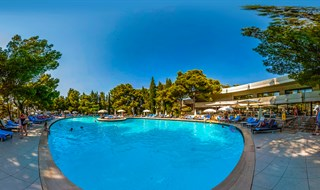 Hotel Croatia pool, Cavtat, 2013.