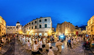 The Feast of the Assumption of the Blessed Virgin Mary, Dubrovnik, 2015.