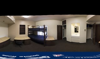 360 Degree Interactive Tour of Double Room - Use cursor to navigate