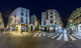 Rue Saint Anne & Rue Theresse, Paris, 2014.