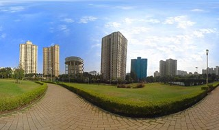 Hiranandani Garden 360 degree view by Property Walk:  9594953366