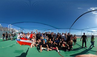 Groove Cruise Soccer Match 360° Panoramic