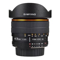 Samyang 8mm f/3.5 AS IF MC Fish-eye CS Minolta/Son
