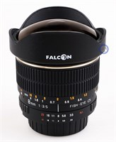 Falcon 8mm Fisheye f/3.5