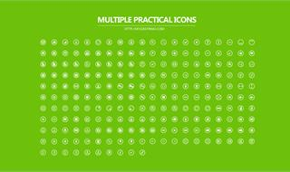 Multiple Practical Icons