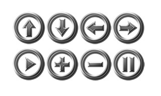 Chrome Buttons