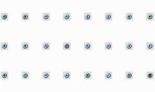 40 Small Blue Icons