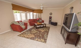 Simi Valley 5 Bedroom Updated Pool Home by Jeffrey Diamond Realtor - Family Room To Kitchen