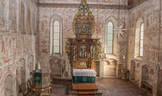 Church in Briesen in Germany